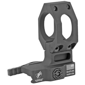 American Defense Manufacturing Aimpoint High Optics Mount 30mm Tube Diameter QD Auto Lock Standard Style Titanium Lever Black
