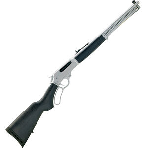 "Henry All Weather Lever Action Rifle 45-70 Govt 18.43"" Barrel 4 Rounds Coated Hardwood Stock Hard Chrome"