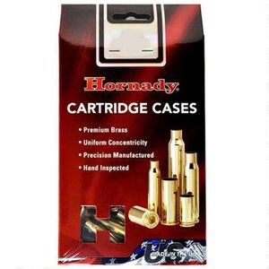 Hornady Reloading Components .454 Casull New Unprimed Brass Cartridge Cases 100 Count