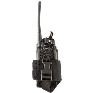 Grey Ghost Radio Pouch Small Laminate Nylon Black