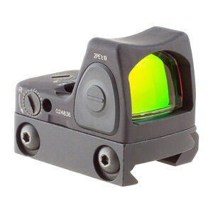 Trijicon RMR Adjustable LED Sight 3.25 MOA Red Dot with Mount Black RM06-33