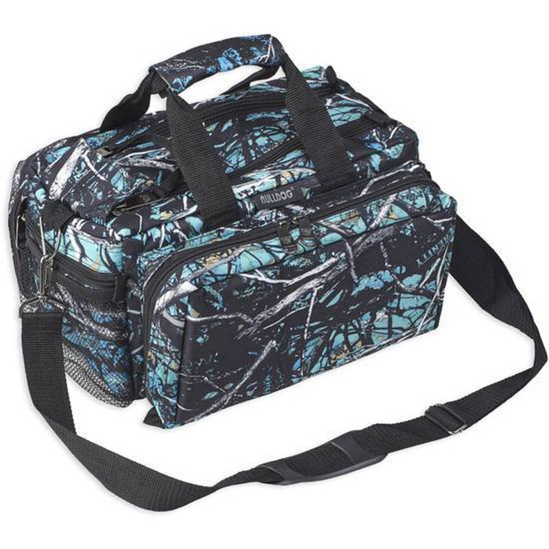 Bulldog Cases Deluxe Range Bag With Strap Nylon Muddy Girl Serenity Camo BD910SRN