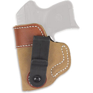 DeSantis Gunhide Sof-Tuck Fits SIG Sauer P365 Inside the Waistband Holster Left Hand Leather Natural