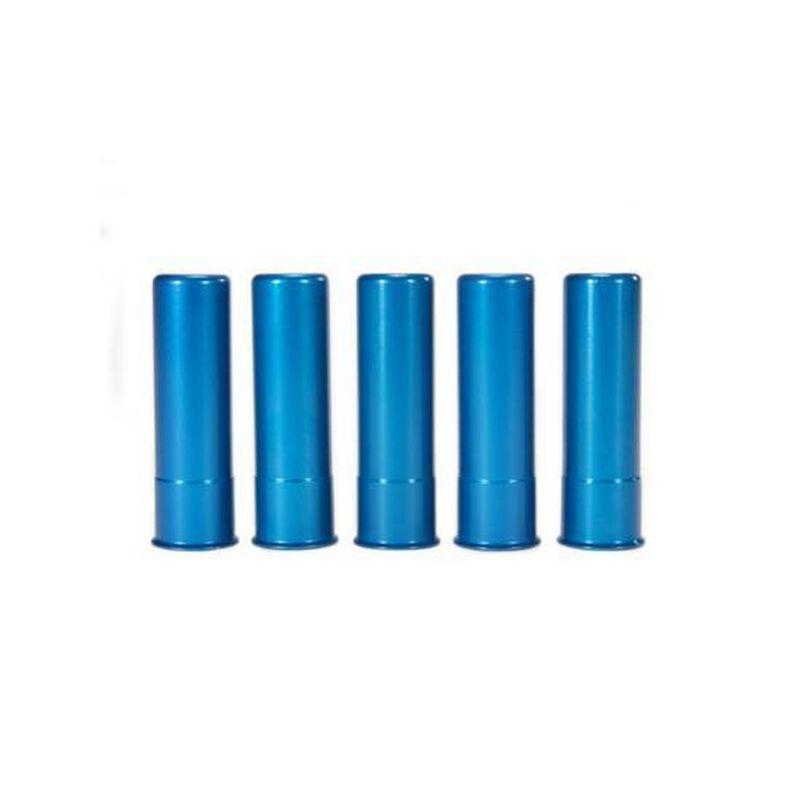A-Zoom 20 Gauge Snap Caps Aluminum Blue 5 Pack 12313