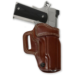 """Galco Avenger 1911's 5"""" Barrel without Rail Belt Holster Right Hand Leather Tan"""