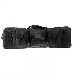 "Drago Gear 36"" Single Gun Case Tactical Case 600 Denier Nylon MOLLE Panels Matte Black"