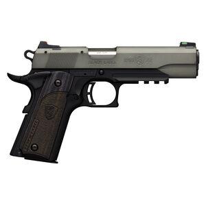 "Browning 1911-22 Black Label Gray Semi Auto Pistol 22 LR 4.25"" Barrel 10 Rounds Accessory Rail Black/Gray"