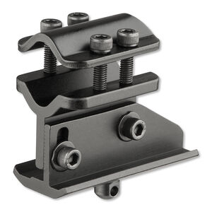Harris Bipod Number 4 Adapter Universal Barrel Mount Aluminum Black HB4