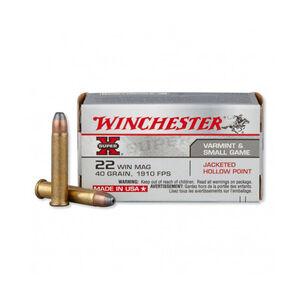 Winchester .22 Winchester Magnum Ammunition 150 Rounds JHP 40 Grains