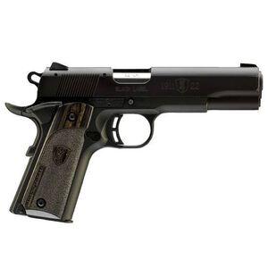"Browning 1911-22 Semi Auto Handgun .22 Long Rifle 3.625"" Barrel 10 Rounds Composite Frame Wooden Grips Black 051815490"