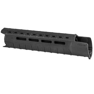 Magpul MOE SL AR-15 Mid-Length Hand Guard With A2 Front Sight Cut Polymer Black MAG551-BLK