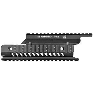 FAB Defense VFR-VZ VZ Quad-Rail System Aluminum Black