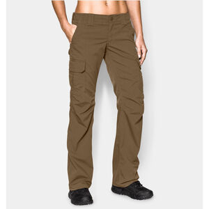 Under Armour Performance UA Tactical Women's Patrol Pants Polyester Ripstop Size 2 Black 12540970012