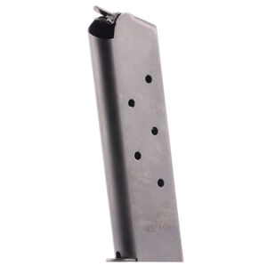 Colt 1911 Full Size Government/Commander 7 Round Magazine .45 ACP Carbon Steel Blued Finish