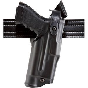 Safariland 6360 ALS Duty Holster Smith & Wesson M&P 9/40 w/Light Level 3 Retention Right Hand SafariLaminate Plain Black 6360-2192-61