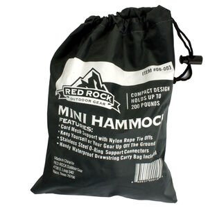 Red Rock Gear Nylon Hammock w/Nylon Carry Bag