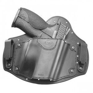 Fobus Universal IWB Holster Large Frame Pistols Right Hand Polymer Body Black