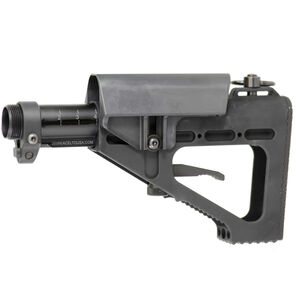 DoubleStar AR-15 ACE Hammer Adjustable Buttstock Aluminum Black A126A