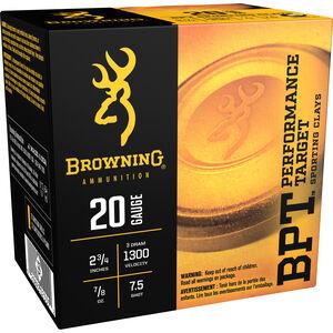 Browning 20 Gauge Ammunition 25 Rounds 2-3/4 7/8 oz. Sporting #7.5 Shot