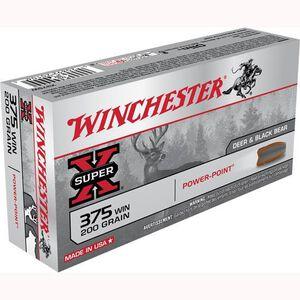 Winchester Super X .375 Win Ammunition 20 Rounds, PP, 200 Grains