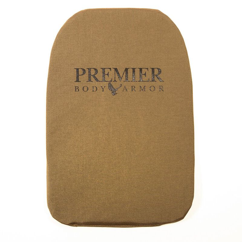 "Premier Body Armor Panel 5.11 Rush 24 Large 11""x16.5"" Tan"