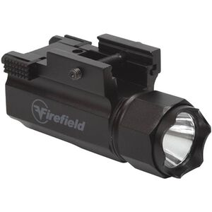 Firefield Tactical Pistol LED Flashlight 120 Lumens Slide Switch Picatinny Mount Black FF23011
