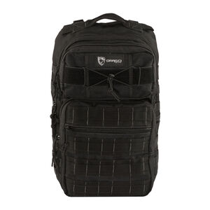 """Drago Gear Ranger 15"""" Laptop Backpack 18"""" x 17.5"""" x 12"""" MOLLE Webbing 1,463 Cubic Inches Hydration Reservoir Compatible Black 14309BL"""