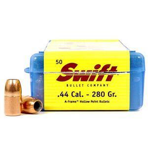 """Swift .44 Caliber .429"""" Diameter 280 Grain A-Frame Hollow Point Bullet 50 Count 442800"""