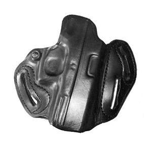 DeSantis Speed Scabbard Belt Holster 1911 Full Size Railed Right Hand Leather Black 002BAF9Z0