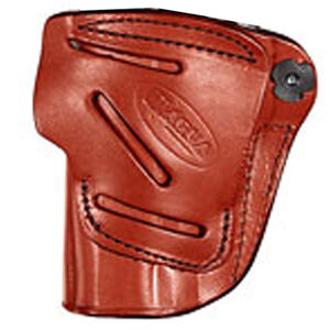 Tagua Gunleather 4-IN-1 GLOCK 43 Inside the Waistband Holster Right Hand Draw Leather Brown