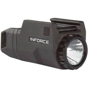 INFORCE APLc Compact Rail Mounted LED Tactical Light 200 Lumen Black