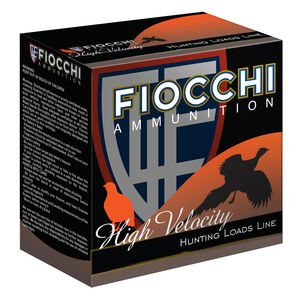 "Fiocchi Optima Specific High Velocity 20 Gauge Ammunition 2-3/4"" #7.5 Shot 1oz Lead 1220fps"