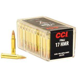 CCI .17 HMR Ammunition FMJ 20 Grain 2,375 FPS