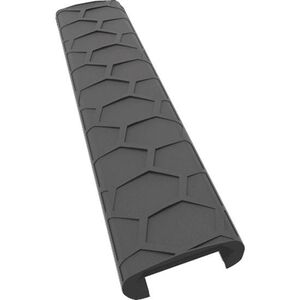 Hexmag AR-15 Low Profile Rail Covers 7 Slot KeyMod Wedgelok Polymer Black 4 Pack