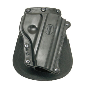 Fobus Holster SIG Sauer P230,P232 Right Hand Paddle Attachment Polymer Black