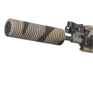 "Manta Suppressor Cover 1.5"" ID 7"" Long .223/5.56/.300/.308/7.62 Synthetic Camo M7010"