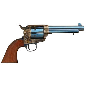 "Cimarron Firearms Model P Single Action Revolver .45 Long Colt 5.5"" Barrel 6 Rounds Walnut Grips Charcoal Blue Finish MP513C00"