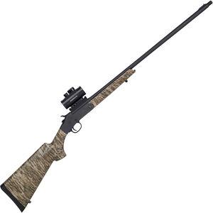 "Savage Stevens 301 Turkey XP 20 Gauge Single Shot Break Action Shotgun 26"" Barrel 3"" Chamber with Red Dot Optic MOBL Camo Synthetic Stock Matte Black Finish"