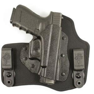 DeSantis Invader Tuckable IWB Holster Springfield XD-S Right Hand Nylon/Kydex Black M65KAY1Z0