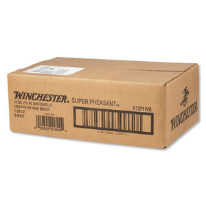 "Winchester Super Pheasant 12 Gauge Ammunition 25 Rounds 2.75"" #6 Plated Lead 1.375 Ounce X12PHV6"