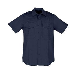 5.11 Tactical Twill PDU Short Sleeve B Class Women's Shirt Med Regular Polyester/Cotton Twill Midnight Navy