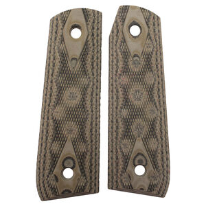 Hogue Ruger 22/45 Extreme G-10 Grips Checkered G-Mascus Green 82158
