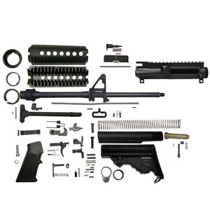 "DPMS A3 Lite AR-15 Rifle Kit 5.56 NATO 16"" Barrel A2 Fixed Stock No Lower Receiver"