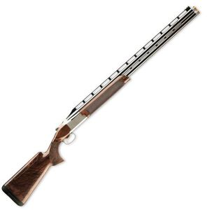 """Browning 725 Citori High Rib Sporting with Adjustable Comb 12 Gauge Over/Under Shotgun 30"""" Vent Rib Barrel 3"""" Chamber 2 Rounds Walnut Stock Polished Blued Silver Nitride 0136243010"""