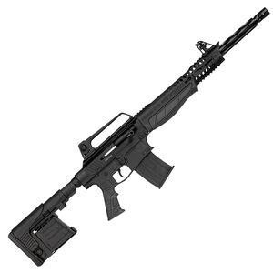 "Escort SDX12 12 Gauge Semi-Auto Shotgun 18"" Barrel 5 Rounds Adjustable Sights Synthetic Stock Aircraft Alloy Anodized Black"