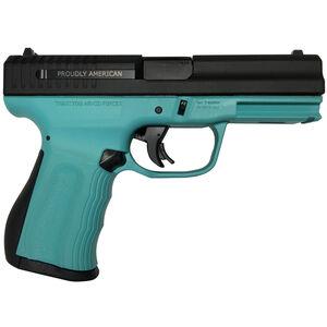 "FMK 9C1 G2 Semi Auto 9mm 4"" Barrel 14 Rounds Robins Egg Blue/Black"