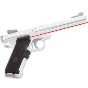 Crimson Trace Lasergrip Ruger Mark II, Mark III Semi Automatics Rubber Black LG-403