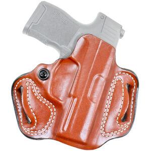 DeSantis Gunhide Mini Slide SIG P365 OWB Belt Holster Right Hand Leather Tan