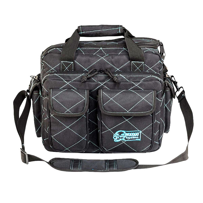 Voodoo Tactical Standard Scorpion Range Bag Nylon Gray/Teal