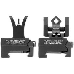 Troy Battlesight Di-Optic Micro Sight Picatinny Mount Black Front and Rear Sights SSIG-MCM-SSBT-00